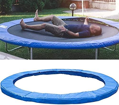 WSZYBAY Cubierta de trampolín Reemplazo de trampolín Envolvente Almohadilla Espuma Protector de Seguridad Padín de Resorte, protección de Borde Resistente al desgarro (Color : 8FT)