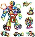 infinitoo Blocchi Costruzioni Magnetiche Puzzle Costruzioni Magnetiche per Bambini Kit di ...