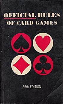 Paperback official rules of card games  65th edition Book