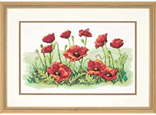 poppy cross stitch kits