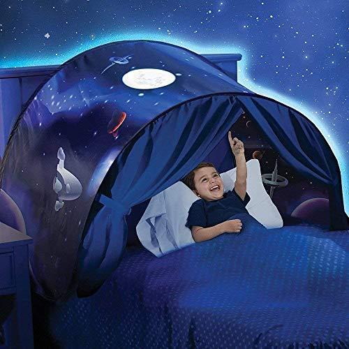 Nilefo Bed Tent KidsPlayTentsPop Up BedTenCastles Verjaardagscadeaus Beddengoed Decoratie (Star Tent)