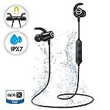 Bluetooth Headphones, Mpow S11 Bluetooth 5.0 APTX Bass Stereo Sound Bluetooth Earbuds, IPX7