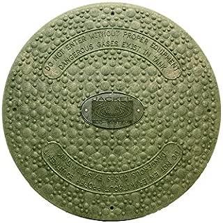 Jackel Septic Tank Riser Cover ( 24 Inch Diameter - GREEN )
