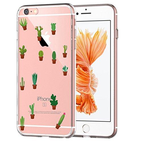 blitzversand Handyhülle Summer Kaktus kompatibel für Samsung Galaxy Alpha Kaktus Topf Schutz Hülle Case Bumper transparent rund um Schutz Cartoon M8