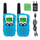 Sigdio T-388 Walkie Talkie Bambini con Batterie Ricaricabili e Caricabatterie Walky Talky ...