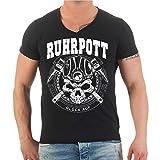 Männer und Herren T-Shirt Ruhrpott Ruhrgebiet Pottgebote (mit Rückendruck) Größe S - 8XL