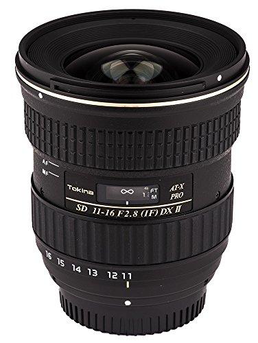 Tokina ATXAF116DXIIN 11-16mm f/2.8 Pro DX-II Lens for Nikon F, Black