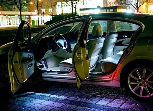 Für MercedesBenzE-KlasseW212 - WEISSE INNENRAUMBELEUCHTUNG Set Umrüstsatz Innenraum Beleuchtung. Eine sehr exklusive KALT WEISSE Optik. von - Hallenwerk