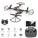 SZJJX Foldable Remote Control Drones, RC Quadcopter Helicopt...
