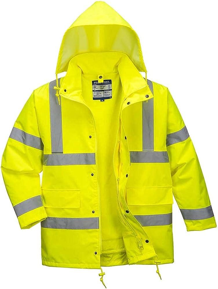 Portwest Workwear Mens Hi-Vis 4-in-1 Jacket