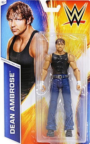 WWE Dean Ambrose The Shield Action Basic Figure Series 51 #38 Wrestling Mattel