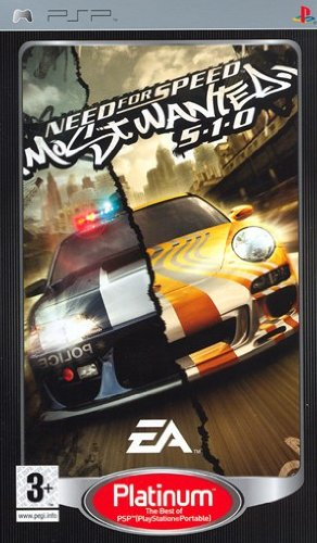 EAGAME PSP00040 GIOCO PSP NFS MOST WANTED 5-1-0 ED.PLATINUM