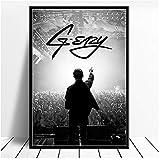 A&D Poster und Drucke G-Eazy Halsey Pop Rap Musik Poster