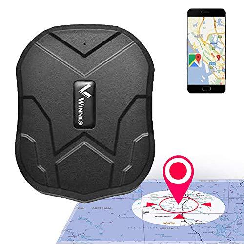 Zeerkeer Localizador GPS para Coche,Rastreador GPS Real Antirrobo Impermeable Fuerte Imán GPS Tracker App Gratuita para Seguimiento Vehículo