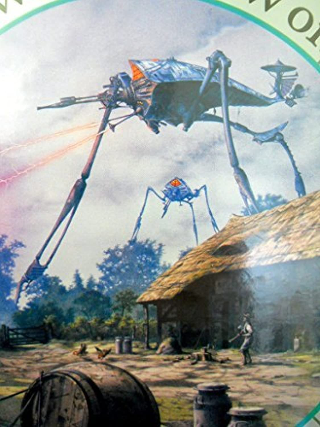 The War of the Worlds 500pc Puzzle by bluee Opal