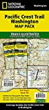 Pacific Crest Trail: Washington [Map Pack Bundle] (National Geographic Trails Illustrated Map)