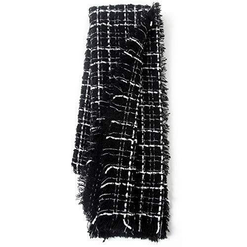 OHMTJP Vrouwen Driehoek Sjaal Winter Sjaal Warm Lange Sjaal Wraps Cashmere Voel Plaid Sjaals Oversized Tartan Wrap Grote Deken