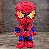 LJQLXJ Hucha Hucha de Dibujos Animados de la Liga Marvel Spiderman Iron Man Caja de Monedas Banco de Regalo de cumpleaños para niños Hucha, Araña, Hombre
