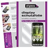 dipos I 2X Schutzfolie klar kompatibel mit Doro Liberto 825 Folie Bildschirmschutzfolie