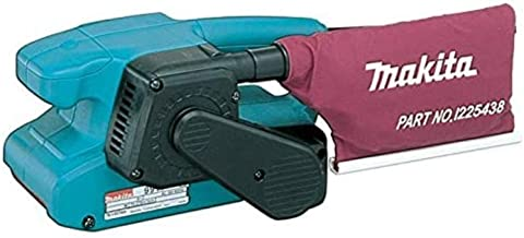 Makita 9911 650W Belt sander power sander - Makita 9911, Belt sander, Dust bag, 650 W, 650 W, 2.7 kg, 130 mm