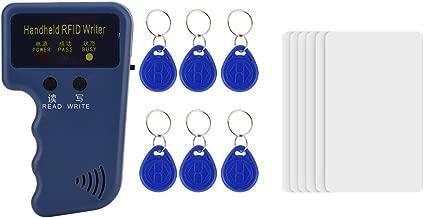 azul YAVIS 10pcs 13.56MHz RFID Llavero UID Cambiable Etiquetas Reescritura Keyfobs Proximidad Card texto MF 4K IC NFC etiqueta Llaveros Tarjetas Copiadora para el Control de Acceso