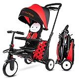 smarTrike STR5 Triciclo Plegable con Carrito Certificado para niños de 1,2,3...