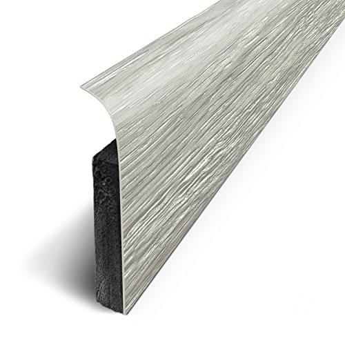 Lote 3M de 5 zócalos adhesivos 120x 70cm, gris, D180513D