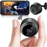 Safety Net Mini Spy Camera WiFi Hidden Camera Wireless HD 1080P Indoor Home Small Spy Cam Security Cameras/Nanny Cam Built-in Battery with Motion Detection/Night Vision for iPhone/Android Phone/iPad/PC