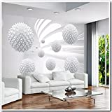 Fotomurales Bola 3D 350 x 256 cm Papel pintado tejido no tejido Salón dormitorio Decoración de Pared decorativos Murales moderna Diseno Fotográfico XXL Fotomurales