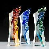 Calificaciones De Trofeos De Vidrio Premios De Producción De Letras De Cristal Creativos Personalizados Premios De Honores Personalizados Recuerdos