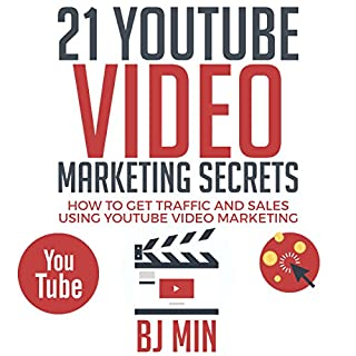 21 YouTube Video Marketing Secrets audiobook cover art