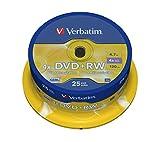Verbatim 43489 - DVD+RW regrabables (25 Unidades)...