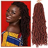 SamBraid 7 Packs 24 Inch New Soft Locs Crochet Hair, For Natural Butterfly Style...
