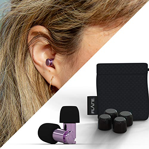 Flare Audio® - Isolate® MiNi Silber Pink Ohrschutz Gehörschutzstöpsel