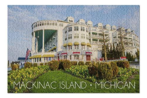 Mackinac Island, Michigan - Grand Hotel 78535 (Premium 500 Piece Jigsaw Puzzle for Adults, 13x19, Made in USA!)