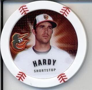 2013 Topps Chipz Baseball Poker Chip - J.J. Hardy