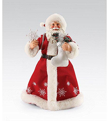 Possible Dreams Song Series Walking in a Winter Wonderland Santa Figurine | 4050058D