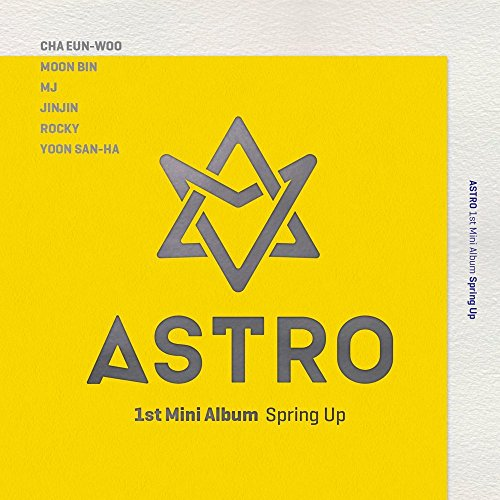 ASTRO - Spring Up (1st Mini Album) CD with Extra Gift Photocard Set