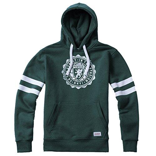 PG Wear College Ultras Fanatic - Sudadera con Capucha, Color Verde
