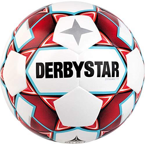 Derbystar Erwachsene Dynamic TT, 1151500136 Fußball, Weiss rot blau, 5