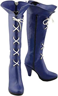 Anime Sailor Moon Sailor Saturn Halloween Cosplay Custom Made Shoes Boots
