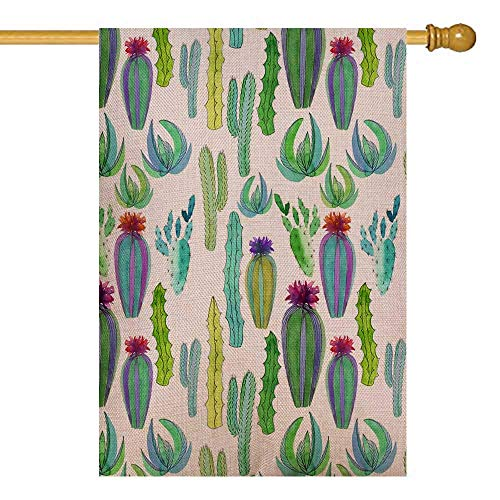 UIJDIAm Merry Garden Flag,Home Yard Decorative 12X18 Inches Beautiful Cute Mexican Hawaii Tropical Floral Herbal Double Sided Seasonal Garden Flags Christmas Kids Garden Flag Christmas Flag