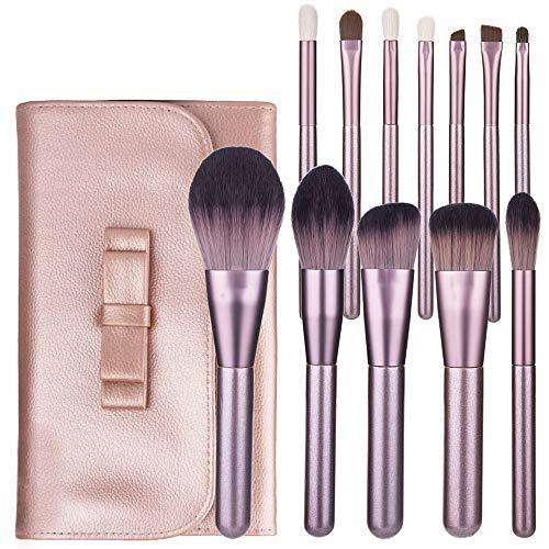 12 Pcs Maquillage Pinceau Premium Cosmétiques Synthétiques Concernes Poudre Blush Mélange Visage Ombres À Paupières Noir Brosse Ensembles Pinceaux à maquillage LTJHHX
