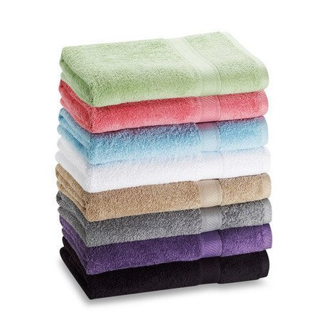 CrystalTowels 6-Pack Bath Towels - Extra-Absorbent - 100% Cotton - 27' x 52'