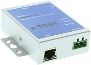 Coolgear Industrial 1 Port RS-232 DB9 Serial Over Network Device Server