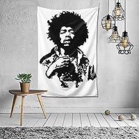 タペストリー Jimi Hendrix ジミ・ヘンドリックス 壁掛け プ飾り お間仕切り ファブリック 部屋 窓装飾 個性 インテリア 飾り おしゃれ 多機能 装飾用品 個性ギフト 新居祝い バレンタインデー 飾り (150x100cm)