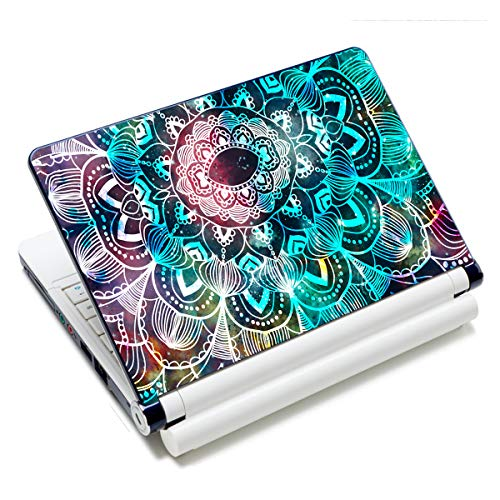 Laptop Skin Vinyl Sticker Decal, 12' 13' 13.3' 14' 15' 15.4' 15.6 inch Laptop Skin Sticker Cover Art Decal Protector Fits HP Dell Lenovo Compaq Apple Asus Acer (Mandala Arts)