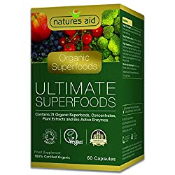 Provides 31 Organic foods and Enzymes to help body maintain optimum performance Boasting an impressive array of phytonutrients, antioxidants, vitamins, minerals, enzymes and amino acids Certified Organic by the Soil Association Made in the UK to GMP ...
