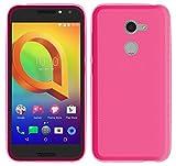 TBOC® Rosa Gel TPU Hülle für Vodafone Smart N8 (5.0