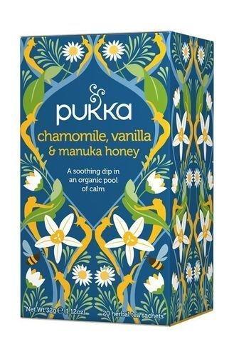 - Pukka Kamille Vanille & Manuka Honing Thee| 20 Tassen |- SUPER SAVER - Bespaar geld door Pukka Kruiden